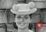 Image of easter hats New York United States USA, 1941, second 47 stock footage video 65675032024
