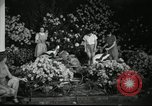 Image of Flower and garden show Seattle Washington USA, 1941, second 42 stock footage video 65675032026