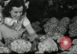 Image of Flower and garden show Seattle Washington USA, 1941, second 62 stock footage video 65675032026