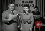 Image of command radio performance Hollywood Los Angeles California USA, 1943, second 7 stock footage video 65675032039