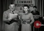 Image of command radio performance Hollywood Los Angeles California USA, 1943, second 9 stock footage video 65675032039