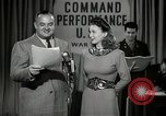 Image of command radio performance Hollywood Los Angeles California USA, 1943, second 14 stock footage video 65675032039
