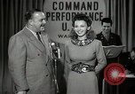 Image of command radio performance Hollywood Los Angeles California USA, 1943, second 18 stock footage video 65675032039