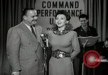 Image of command radio performance Hollywood Los Angeles California USA, 1943, second 20 stock footage video 65675032039