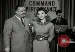 Image of command radio performance Hollywood Los Angeles California USA, 1943, second 23 stock footage video 65675032039