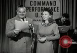 Image of command radio performance Hollywood Los Angeles California USA, 1943, second 26 stock footage video 65675032039