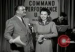 Image of command radio performance Hollywood Los Angeles California USA, 1943, second 27 stock footage video 65675032039