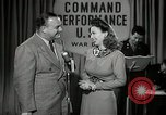 Image of command radio performance Hollywood Los Angeles California USA, 1943, second 28 stock footage video 65675032039