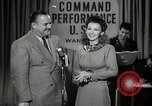 Image of command radio performance Hollywood Los Angeles California USA, 1943, second 29 stock footage video 65675032039