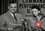 Image of command radio performance Hollywood Los Angeles California USA, 1943, second 33 stock footage video 65675032039