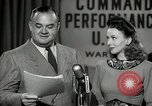 Image of command radio performance Hollywood Los Angeles California USA, 1943, second 36 stock footage video 65675032039