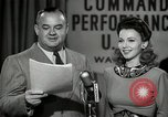 Image of command radio performance Hollywood Los Angeles California USA, 1943, second 45 stock footage video 65675032039