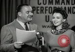 Image of command radio performance Hollywood Los Angeles California USA, 1943, second 54 stock footage video 65675032039