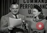 Image of command radio performance Hollywood Los Angeles California USA, 1943, second 59 stock footage video 65675032039