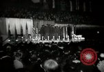 Image of The 372nd Infantry Glee club of African American soldiers New York City USA, 1944, second 3 stock footage video 65675032042