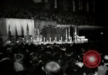 Image of The 372nd Infantry Glee club of African American soldiers New York City USA, 1944, second 8 stock footage video 65675032042