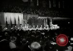 Image of The 372nd Infantry Glee club of African American soldiers New York City USA, 1944, second 10 stock footage video 65675032042