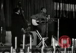 Image of Joshua Daniel White sings at Paul Robeson event New York City USA, 1944, second 19 stock footage video 65675032043
