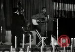 Image of Joshua Daniel White sings at Paul Robeson event New York City USA, 1944, second 34 stock footage video 65675032043