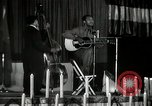 Image of Joshua Daniel White sings at Paul Robeson event New York City USA, 1944, second 38 stock footage video 65675032043