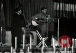 Image of Joshua Daniel White sings at Paul Robeson event New York City USA, 1944, second 42 stock footage video 65675032043