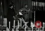 Image of Joshua Daniel White sings at Paul Robeson event New York City USA, 1944, second 43 stock footage video 65675032043