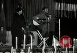 Image of Joshua Daniel White sings at Paul Robeson event New York City USA, 1944, second 50 stock footage video 65675032043