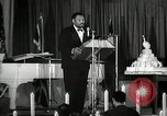 Image of Paul Robeson at his 46th birthday party New York City USA, 1944, second 23 stock footage video 65675032045