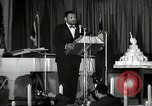 Image of Paul Robeson at his 46th birthday party New York City USA, 1944, second 27 stock footage video 65675032045