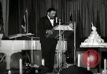 Image of Paul Robeson at his 46th birthday party New York City USA, 1944, second 33 stock footage video 65675032045