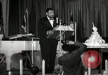 Image of Paul Robeson at his 46th birthday party New York City USA, 1944, second 37 stock footage video 65675032045