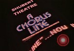 Image of A Chorus Line and other Broadway shows New York City USA, 1976, second 38 stock footage video 65675032055
