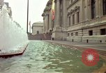 Image of people and buildings New York City USA, 1976, second 1 stock footage video 65675032060