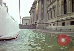 Image of people and buildings New York City USA, 1976, second 2 stock footage video 65675032060