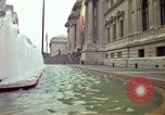 Image of people and buildings New York City USA, 1976, second 4 stock footage video 65675032060