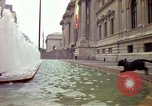Image of people and buildings New York City USA, 1976, second 5 stock footage video 65675032060