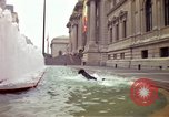 Image of people and buildings New York City USA, 1976, second 6 stock footage video 65675032060