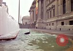 Image of people and buildings New York City USA, 1976, second 7 stock footage video 65675032060