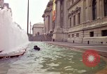Image of people and buildings New York City USA, 1976, second 8 stock footage video 65675032060
