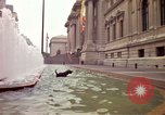 Image of people and buildings New York City USA, 1976, second 9 stock footage video 65675032060