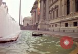 Image of people and buildings New York City USA, 1976, second 10 stock footage video 65675032060