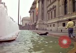 Image of people and buildings New York City USA, 1976, second 11 stock footage video 65675032060