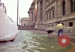 Image of people and buildings New York City USA, 1976, second 12 stock footage video 65675032060