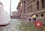 Image of people and buildings New York City USA, 1976, second 13 stock footage video 65675032060