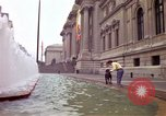 Image of people and buildings New York City USA, 1976, second 14 stock footage video 65675032060