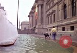 Image of people and buildings New York City USA, 1976, second 15 stock footage video 65675032060