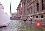 Image of people and buildings New York City USA, 1976, second 17 stock footage video 65675032060