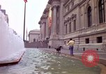 Image of people and buildings New York City USA, 1976, second 18 stock footage video 65675032060