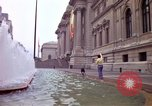 Image of people and buildings New York City USA, 1976, second 20 stock footage video 65675032060