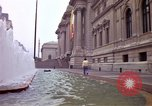 Image of people and buildings New York City USA, 1976, second 21 stock footage video 65675032060